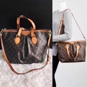 👜 LOUIS VUITTON Palermo PM Monogram Handbag